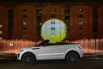Event TV: Land Rover creates giant sun for Range Rover reveal