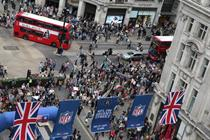 NFL on Regent Street to include American football 'lab'