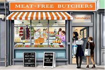 Sainsbury's to open meat-free butchers