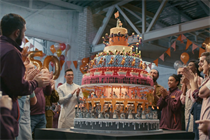 Sainsbury's 150th-anniversary TV spot tells a story through cake