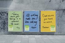Pick of the Week: Samaritans' ads remind men that 'it's OK not to be OK'