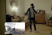 Samsung's 'Be Fearless' Gear VR campaign combats fear of heights