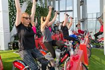 In pictures: Santander Cycles launches 'Spin Up'