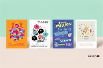 SheSays celebrates mums in advertising with card collection