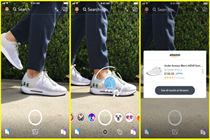 Snapchat links visual search to Amazon listings