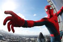 In pictures: Spider-Man scales across London buildings