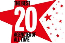 The best 20 agencies of all time