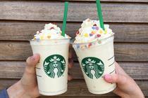 Starbucks, Disney and Skittles at London Pride