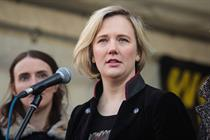 Clear Channel to remove anti-abortion posters targeting MP Stella Creasy