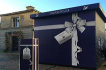 Swarovski creates sparkle-themed installations