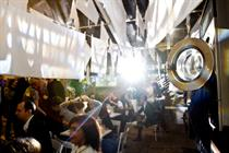 In pictures: Peroni unveils new east London experience