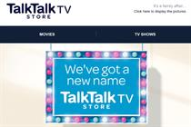 Blinkbox becomes TalkTalk TV Store a year after £30m acquisition