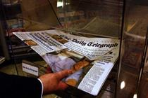 Telegraph put up for sale