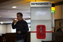 Event TV: Tennent's Lager unveils voice-activated water cooler