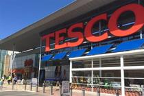 Tesco is best performing big supermarket in latest sales figures
