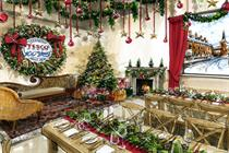 Tesco hosts activation with taste of Christmas past, present and future