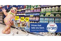 Tesco launches 100th-anniversary TV campaign