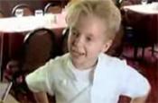 Foul mouthed mini Gordon Ramsay returns