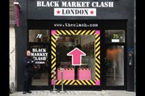 Visualise develops virtual experience for The Clash pop-up store