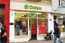 Oxfam uses VR headsets in fundraising activation