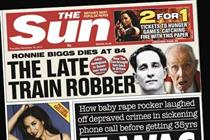 News UK hit by £100m pre-tax losses for Times and Sun brands