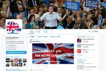 Tories win Facebook, Labour wins Twitter