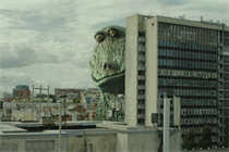 Behind Wagamama's sustainable push centred on a vengeful vegan rubbery Godzilla