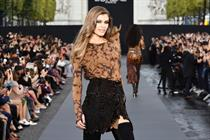 Take a look at L'Oréal Paris' Champs-Elysées runway show