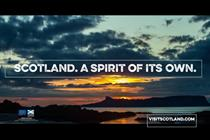 VisitScotland ad captures 'Spirit of its own' in first global campaign