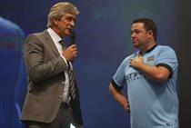 In pictures: Manchester City fans celebrate 2014/15 football season launch