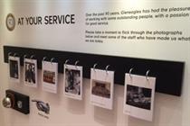 Sedley Place creates Gleneagles Hotel interactive exhibition