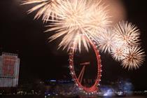 Events in Action: Mayor of London's new year's eve fireworks