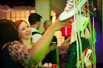 In pictures: Wonderland creates house party for Schuh