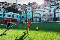 In pictures: JWTand Pavegen create Shell people-powered football pitch