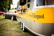Veuve Clicquot joins forces with Tinie Tempah for Airstream tour