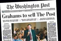 Amazon founder buys Washington Post for $250 million