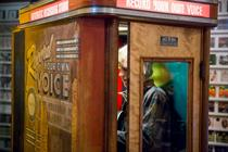 Aberlour whisky brings 1940s recording booth to London