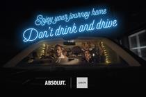 BBH brings Absolut and Uber together for car karaoke service to encourage safe journeys
