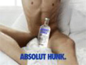 Spoof hunk ad gives Absolut a Sex and the City boost