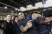 Adidas launches #ForceOfBlack as New Zealand rugby team lands in London