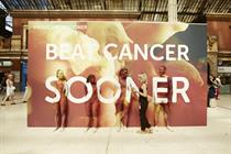 Cancer Research UK uses four cancer survivors for human billboard