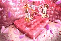 Benefit to create happy house experience with glitter, bouncing and fun fair activities