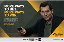 Betfair taps Clive Owen to promote Exchange offering