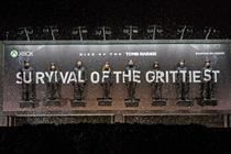 Xbox to stage human billboard stunt for Tomb Raider launch