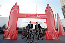 Santander marks Boris Bikes takeover with launch event