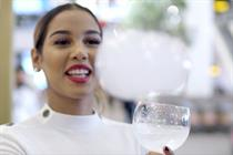 Bombay Sapphire creates floating scented vapour droplets experience