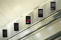 ITV takes over London Underground DOOH screens with play on Brit Awards 'cape gate'