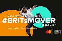 Mastercard leads Brits digital celebrations with dance challenge