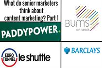 Watch: What do senior marketers think about content marketing? Part 3