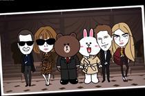 Burberry brings London Fashion Week to Tokyo with Line messaging app